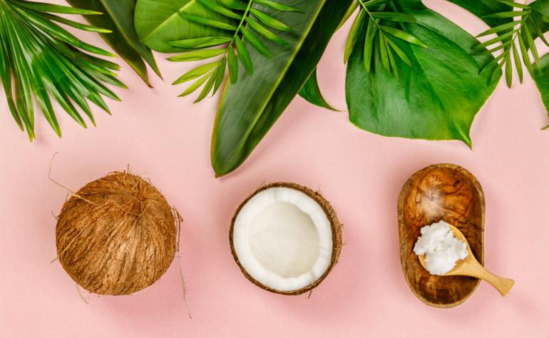 Gommage à l'huile de coco